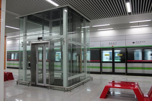 观光电梯钢井道(地铁、高铁)